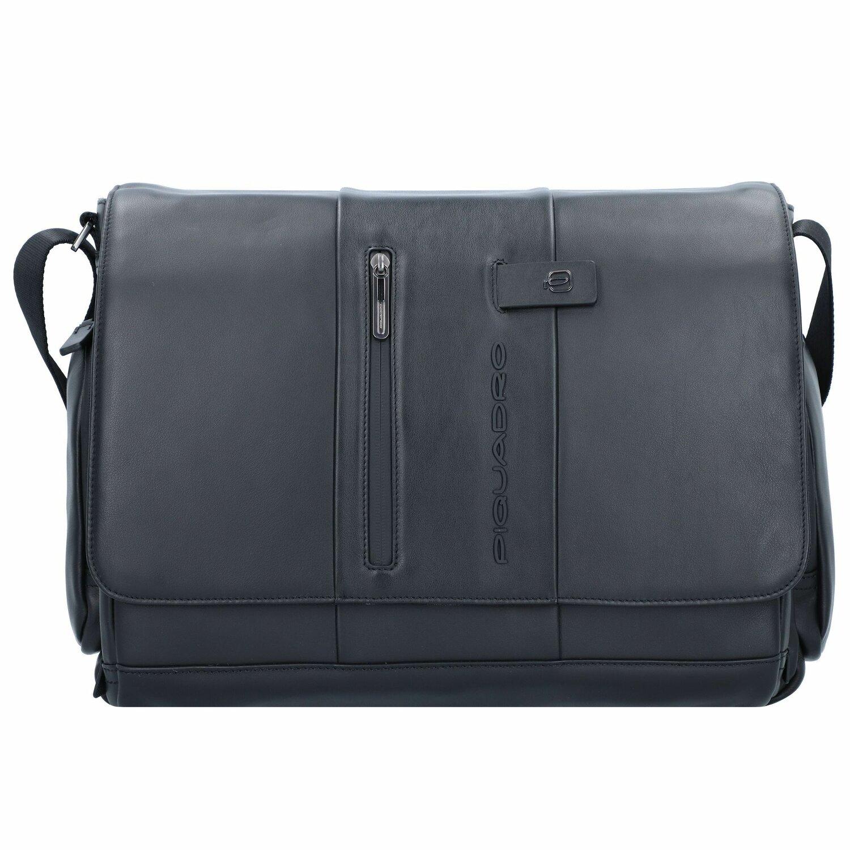 1f9a11b5fd Piquadro Urban Cartella pelle 43 cm scomparto Laptop Black | sul ...