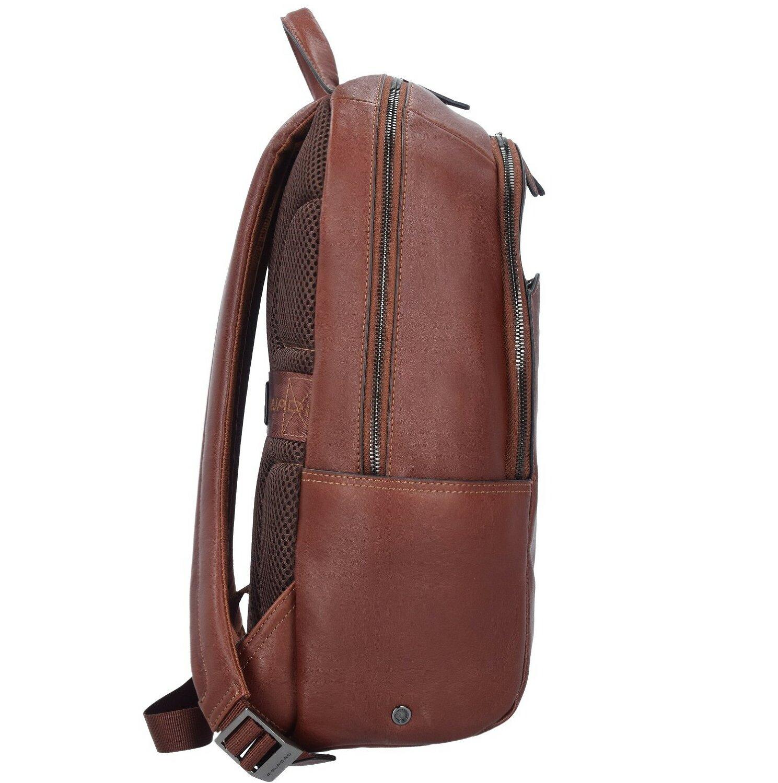 46c5605ffe ... Piquadro Black Square Business Zaino pelle 39 cm scomparto Laptop ...